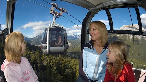 Take a gondola ride up Sulphur Mountain to enjoy majestic views of the Canadian Rockies