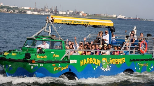 Harbour Hopper in the water