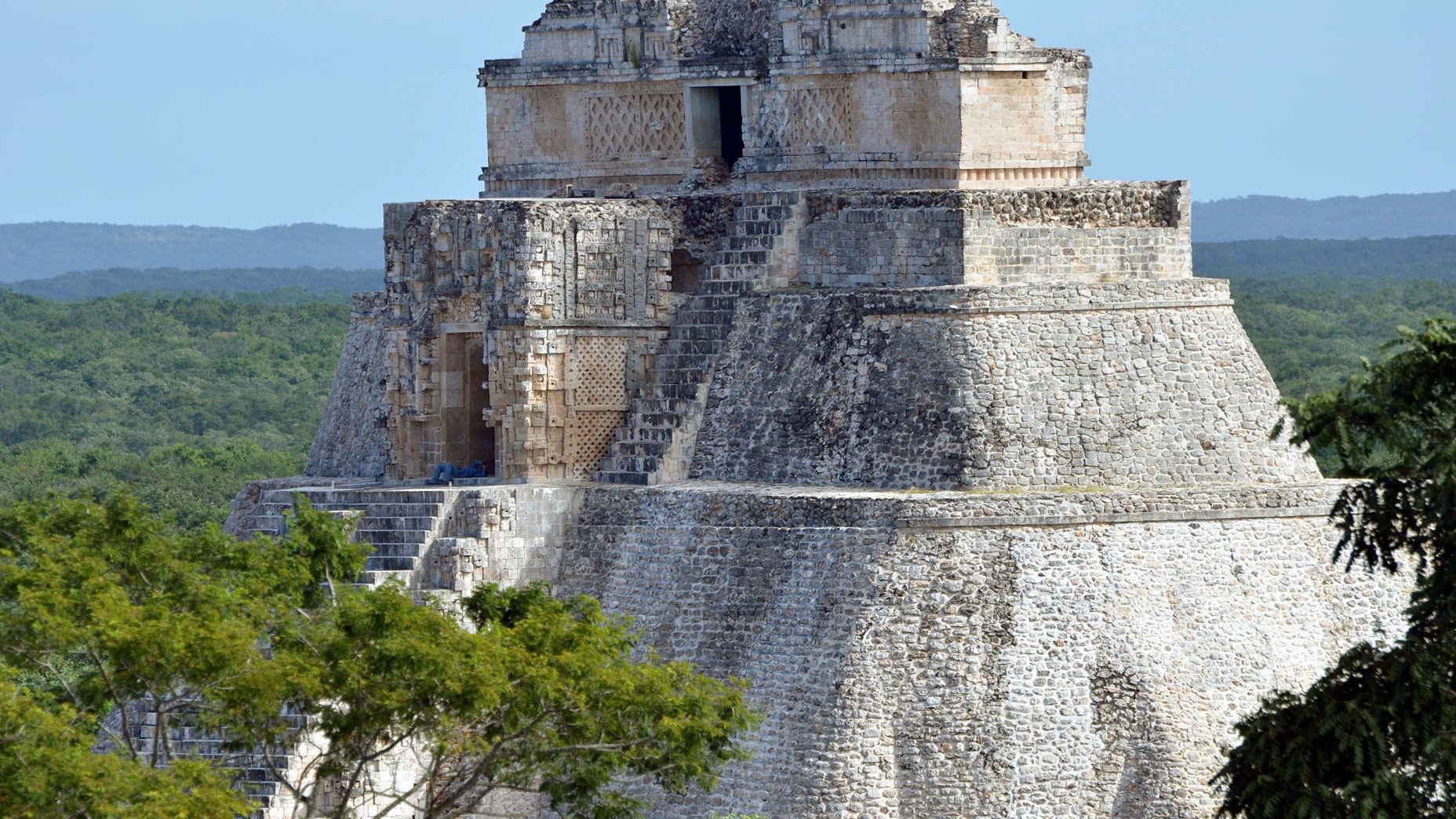 Pyramid at Uxmal