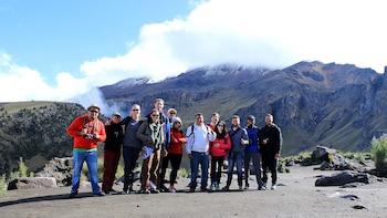 Volcano Mountain Hike Small Group Tour