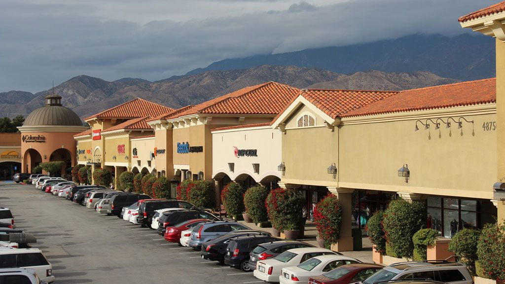 Cabazon Outlet shopping center in Palm Springs
