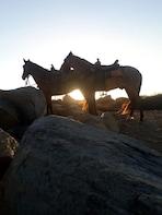 Private SUNSET Horseback ride 1.5hrs