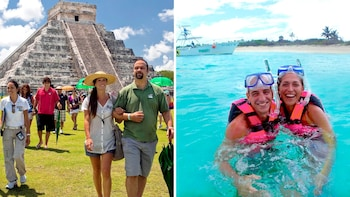 Xcaret Park & Chichén Itzá All-Inclusive Combo Tour