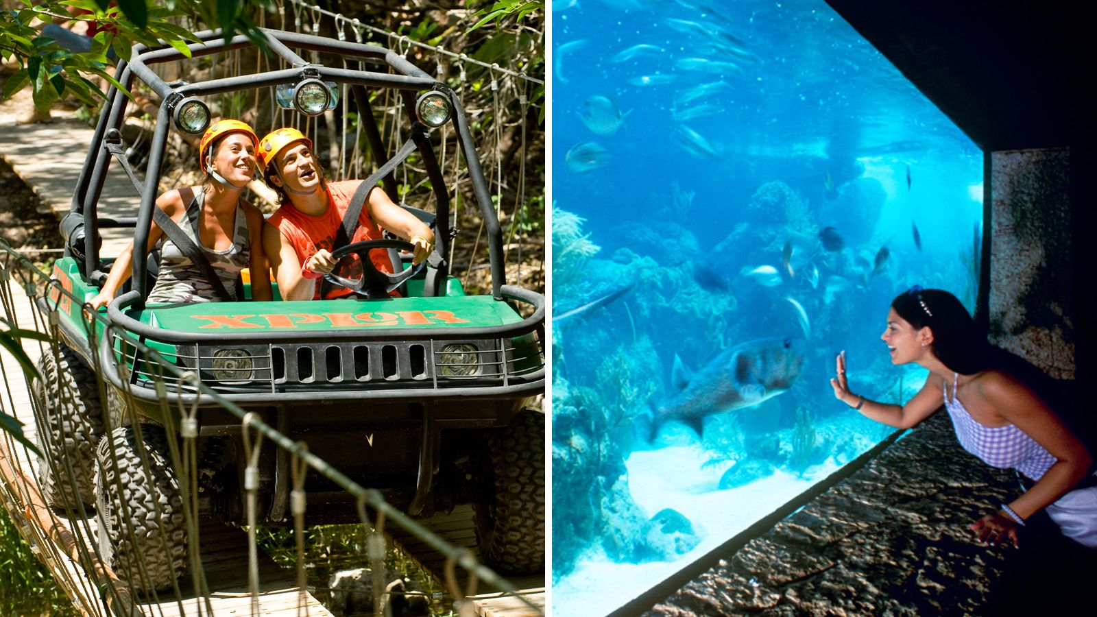 Xcaret & Xplor Park Tickets with Transport and Lunch