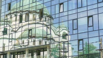 Architectural Walk of Belgrade with a Local