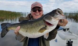 Okeechobee City Bass Fishing on Lake Okeechobee