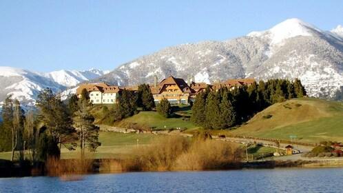 lakeside town in Bariloche