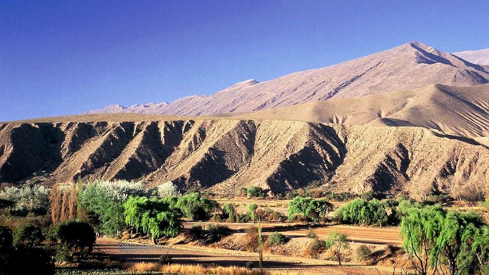 Mountains of Quebrada de Humahuaca