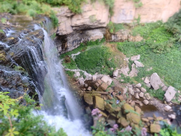 Show item 2 of 10. Hamilton Waterfalls & Bluffs Hiking Tour
