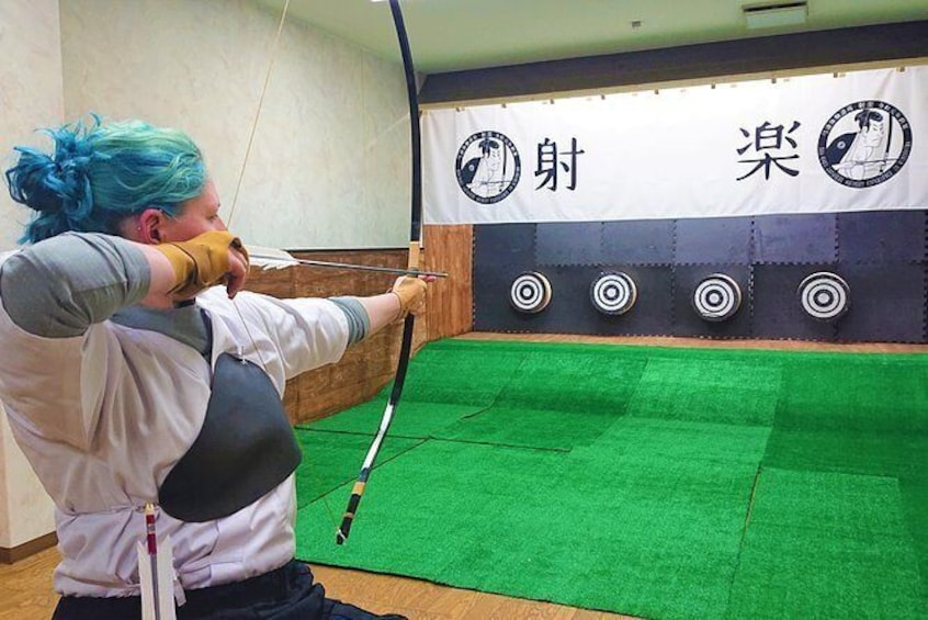 Japanese traditional archery experience Unlimited shooting (50 min)