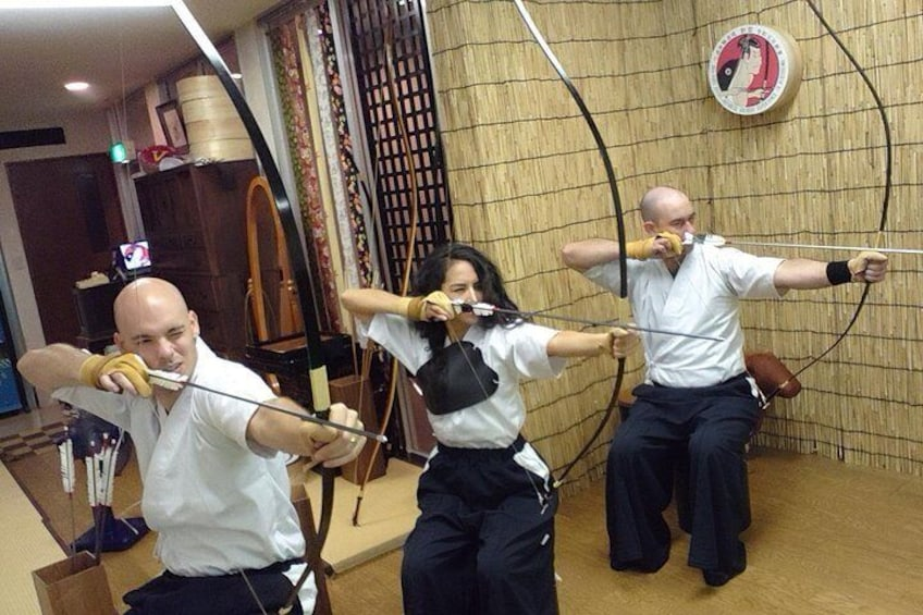 Japanese traditional archery experience Unlimited shooting