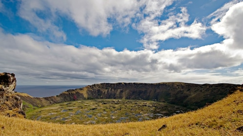 Beautiful view on Easter Island