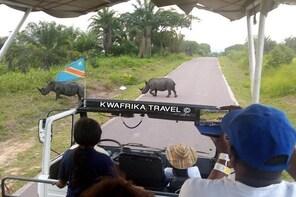 3 days Kinshasa Congo River and N'sele park experience