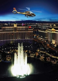Helicopter City Lights w/ Champagne & Luxury Transportation