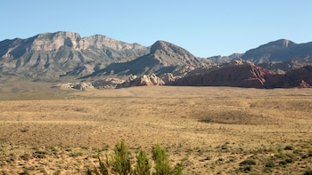 Show item 5 of 5. Scenic view of Red Rock Canyon in the afternoon