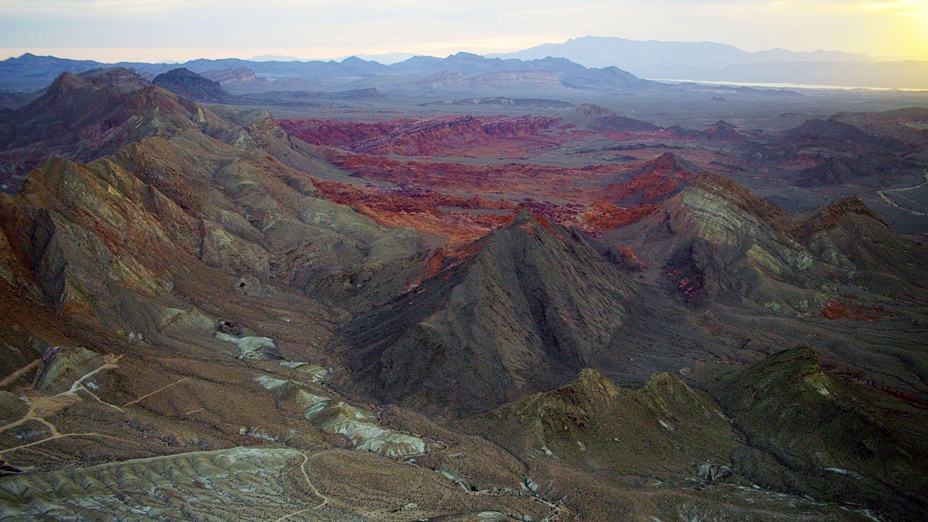 Landscape image of canyons in Arizona