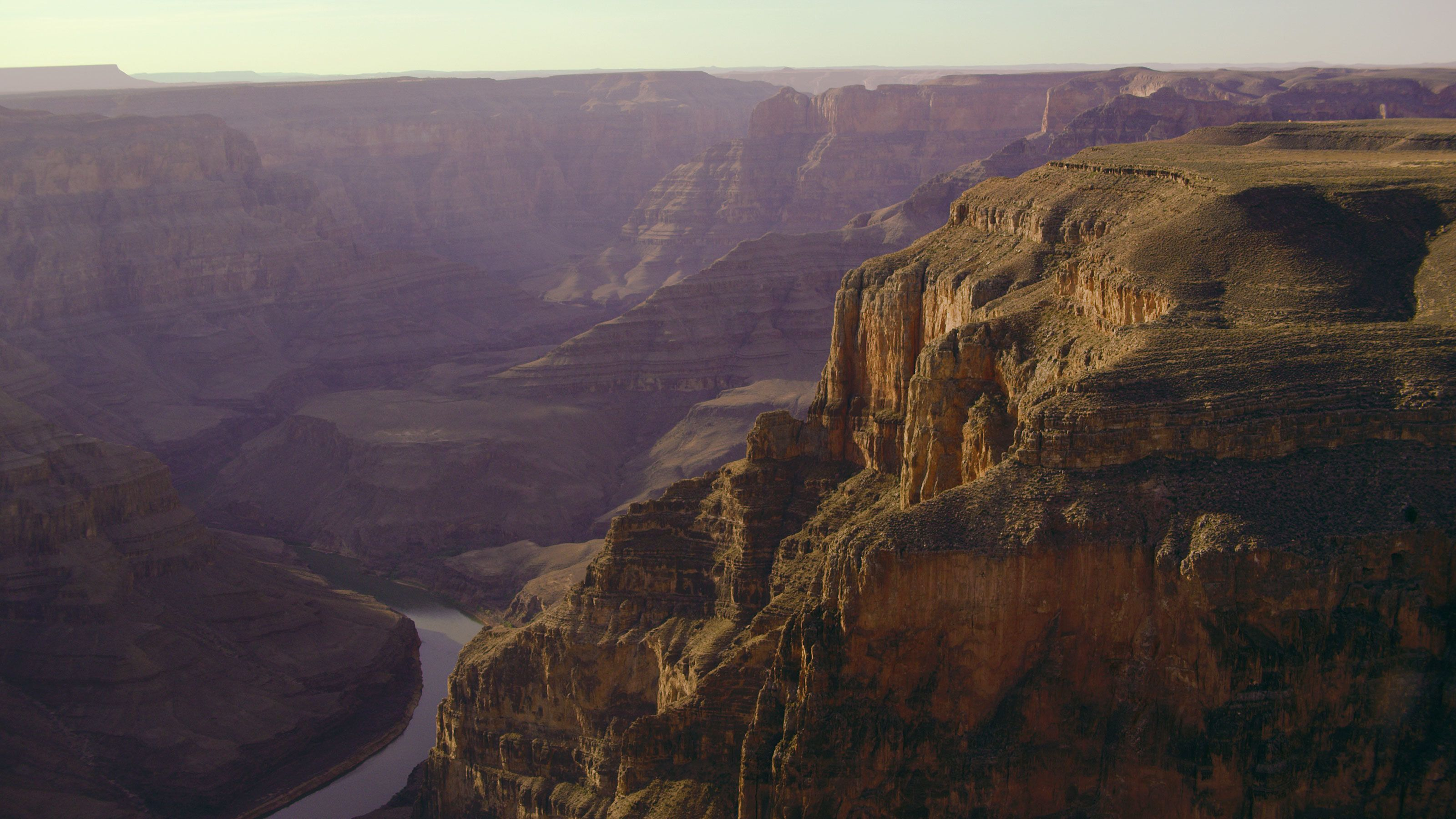 View of the canyon in Arizona