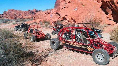 Group of dune buggies in Nevada