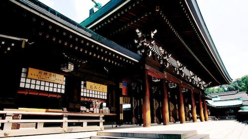 Ornate building in Tokyo