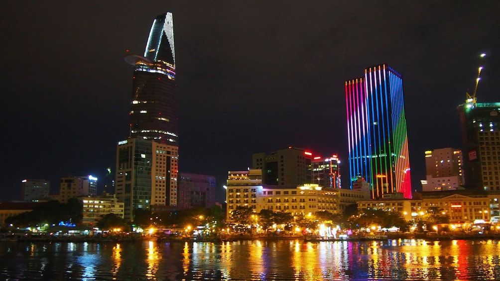 Show item 5 of 9. Gorgeous night view of Ho Chi Minh City