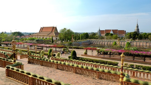 Scenic view of Phnom Penh during the day