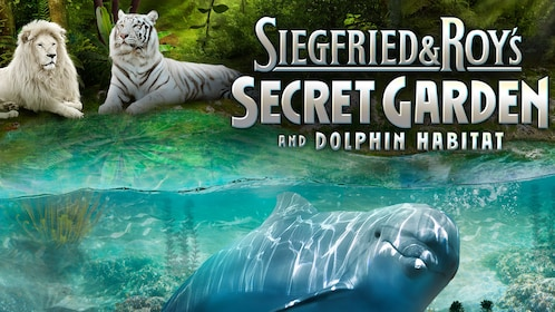 Lions, tigers, and dolphins inhabit Siegfried and Roy's Secret Garden