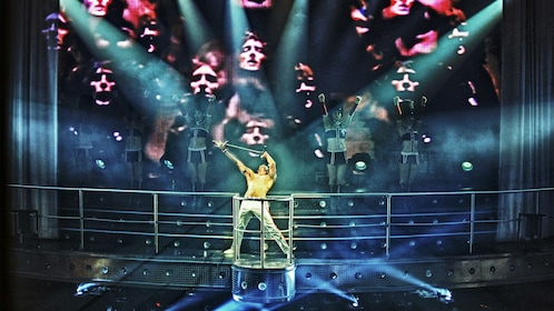 Queen tribute show at Coco Bongo in Riviera Maya