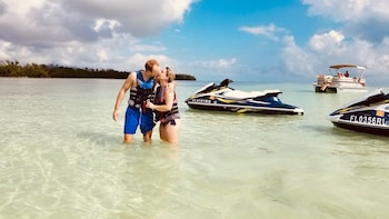 Crab Island 12 Passenger Pontoon Boat + Jet-Ski Combo
