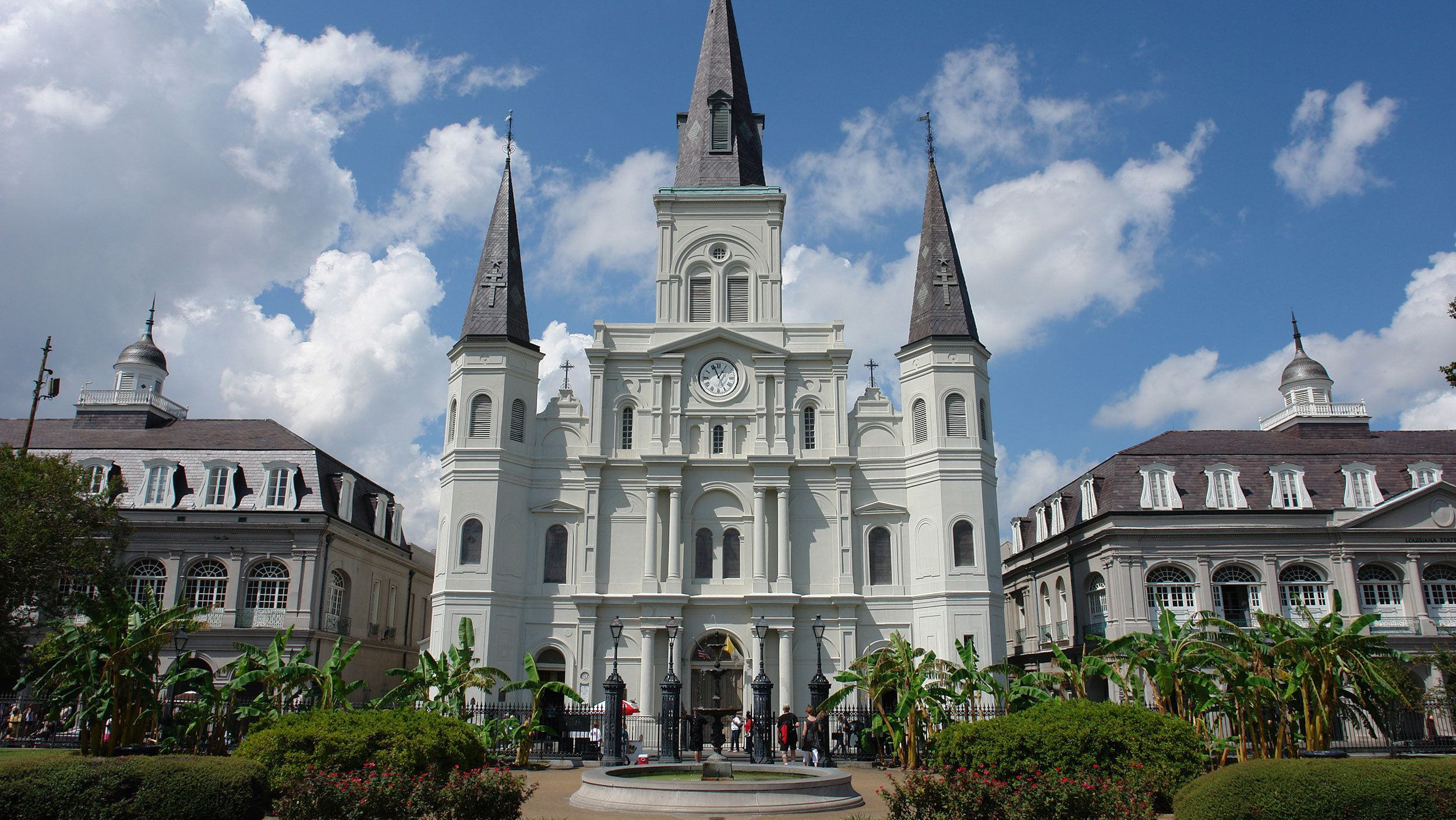 St Louis Cathedral at Jackson Square in New Orleans