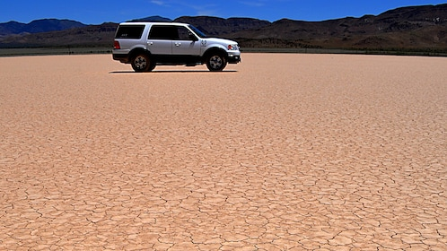 Venture into the Mojave Desert in a comfortable air conditioned SUV