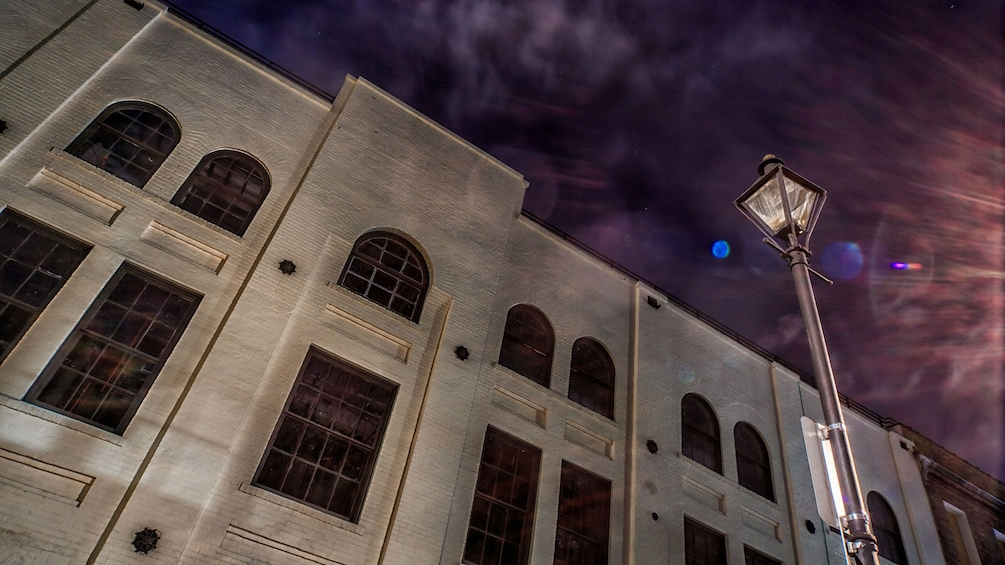 Show item 3 of 10. old building exterior at ghost tour in New Orleans