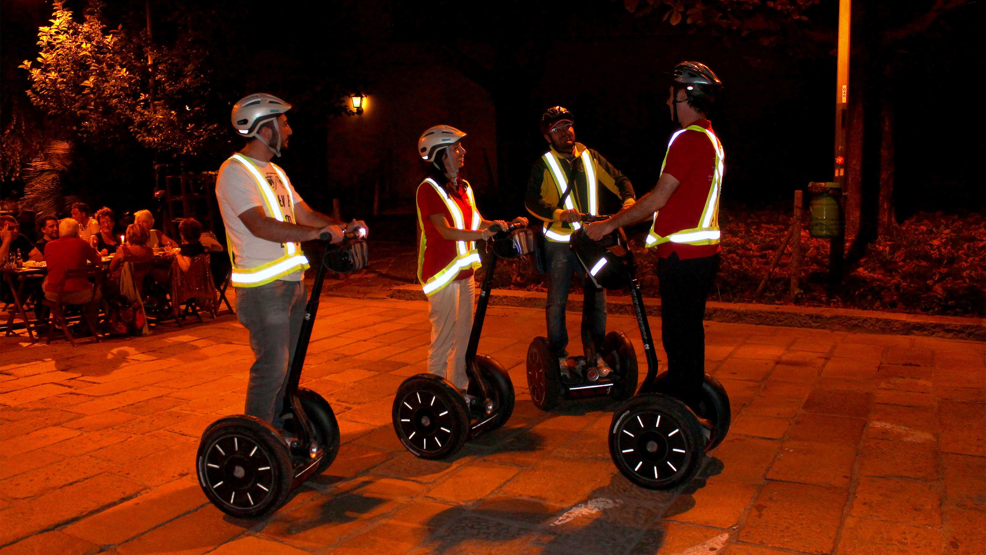 Segways in Milan