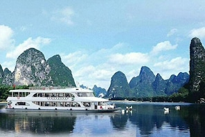 Li River Cruise with English guide/Hotel pick up to pier