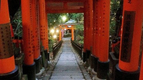 Torii gates at Fushimi Inari shrine in Kyoto