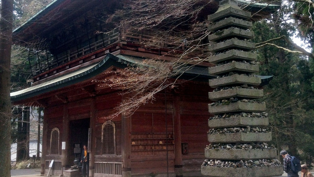 Show item 2 of 5. An ancient temple in Kyoto
