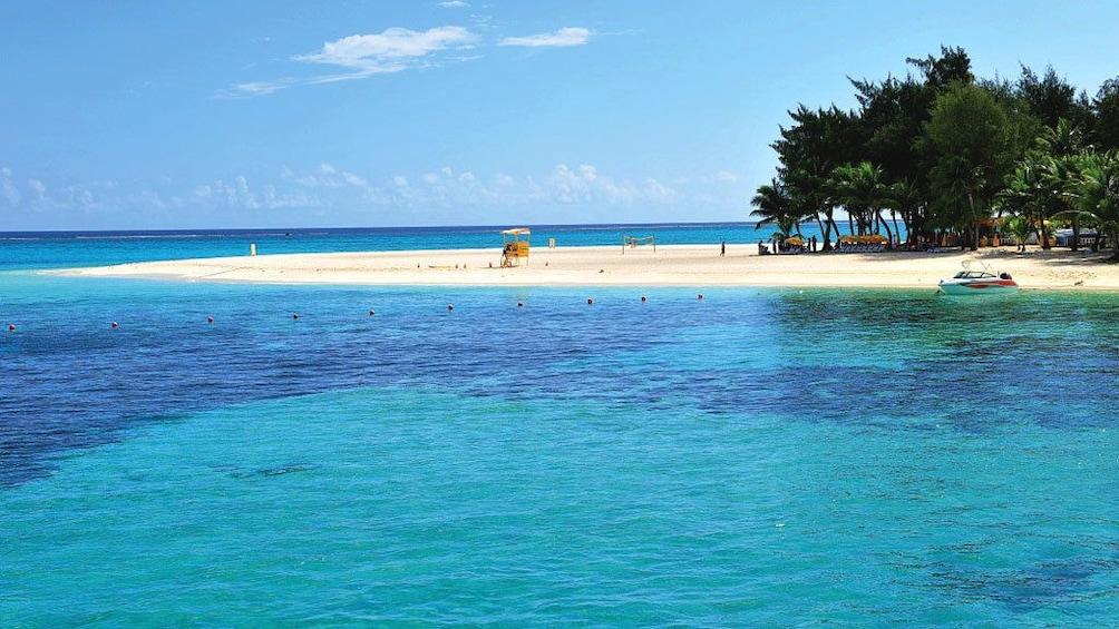Show item 1 of 7. Serene view of Mañagaha Island in Saipan