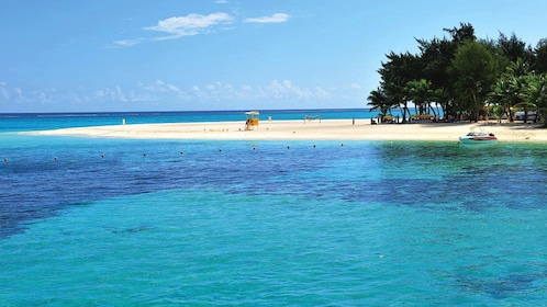 Serene view of Mañagaha Island in Saipan