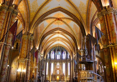 Buda Castle Walk with Coffee Stop and Matthias Church Entry