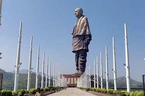 Statue Of Unity Day Tour From Ahmedabad