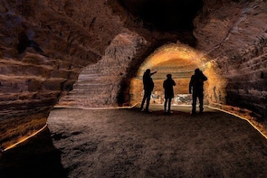 Guided Tour around Four Mysterious Man-Made Caves