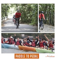 Paddle to Pedal Adventure