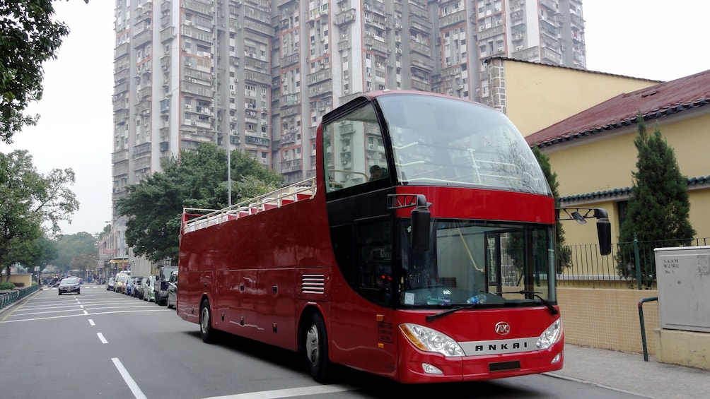 Tampilkan item 1 dari 7. A Hop on hop off bus in Macau