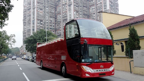 A Hop on hop off bus in Macau