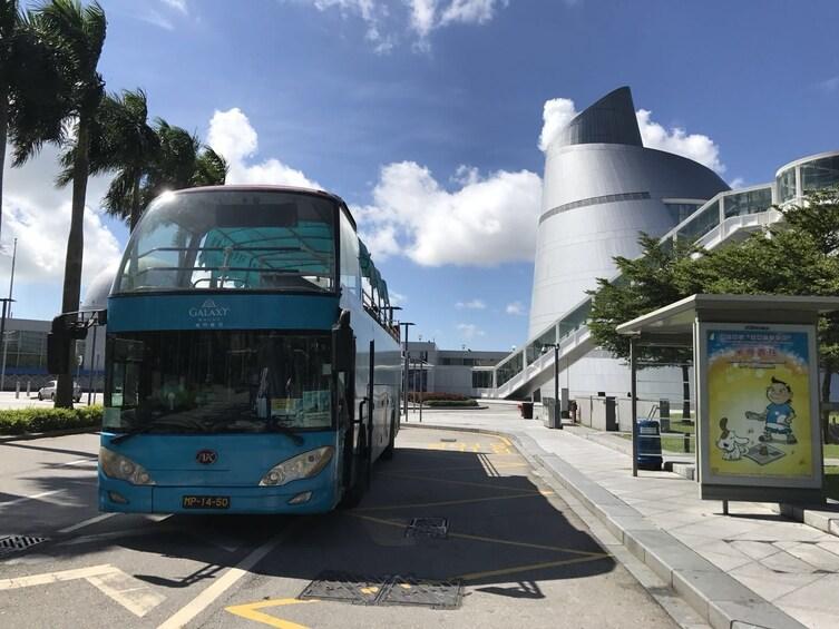 Show item 3 of 7. Macau Open Top Bus Tour
