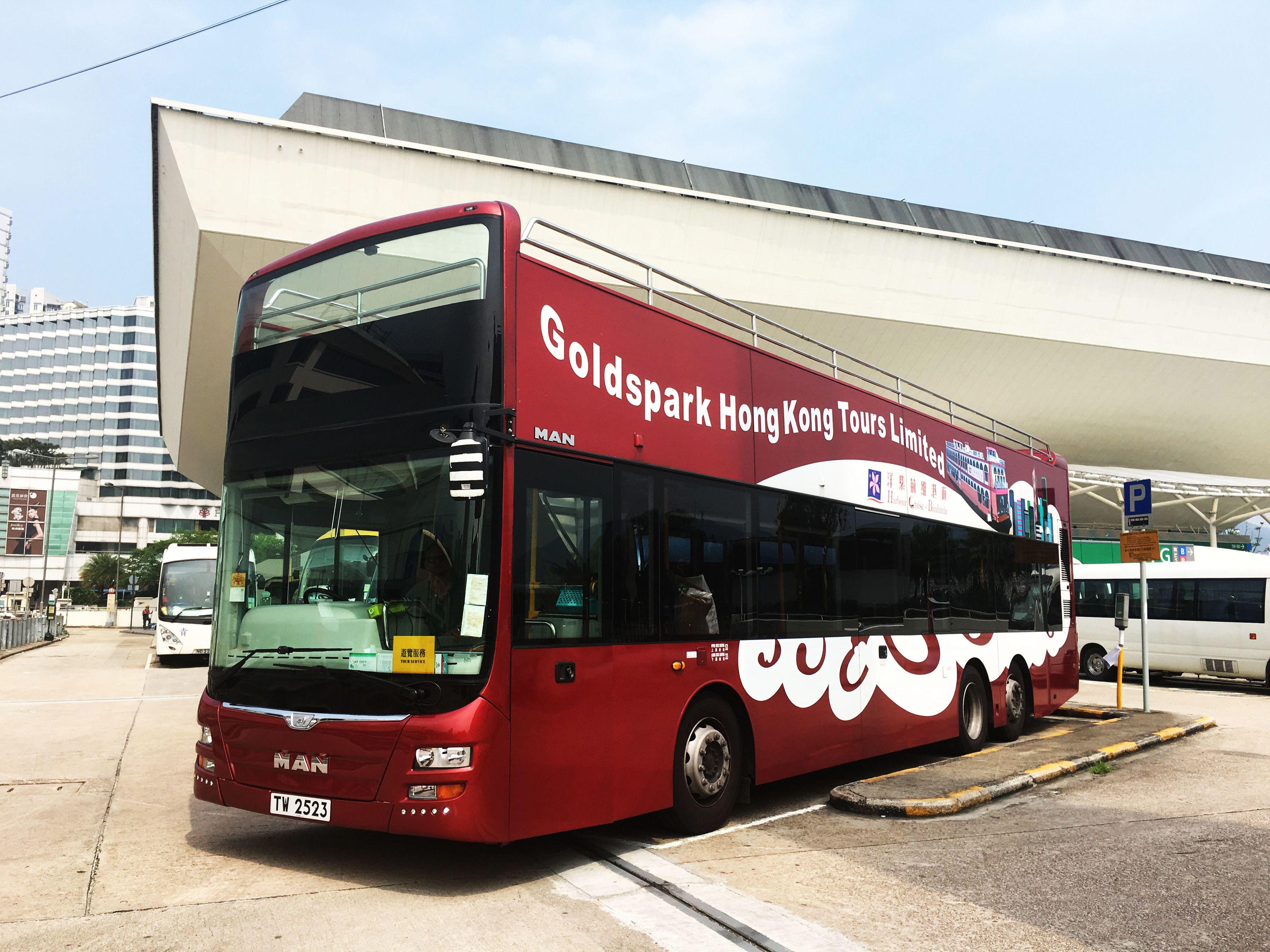 Open-Top Bus Tour & Bauhinia Dinner Cruise