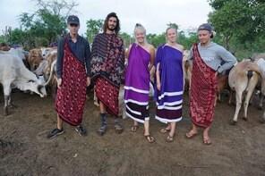 Day trip tour to Maasai village