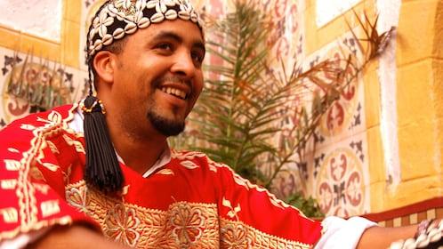 smiling man in Essaouira Morocco