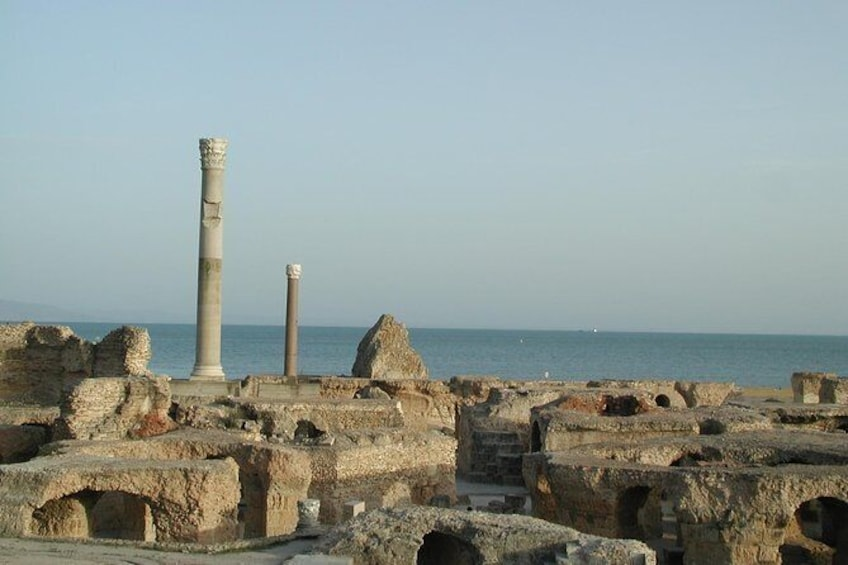 Full-Day Tour to Carthage, Sidi Bou Said, and Bardo Museum from Sousse