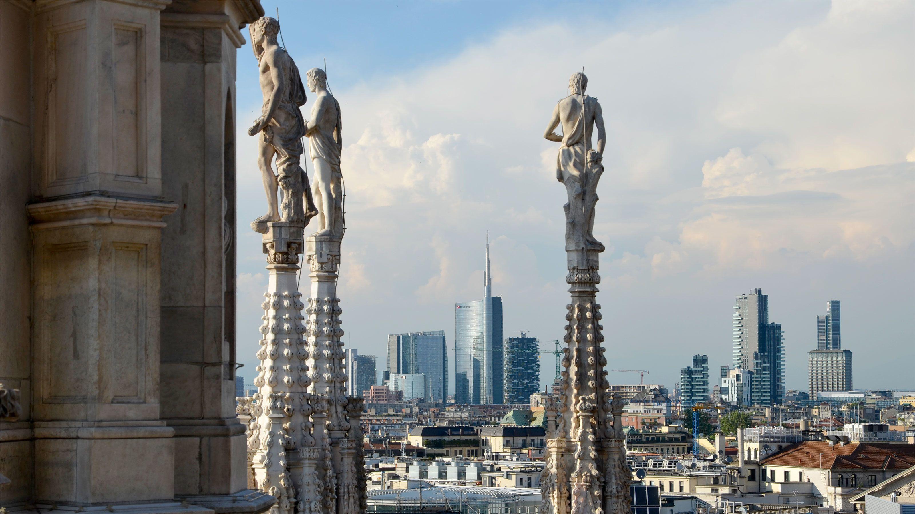Rondleiding over het dakterras van de Duomo