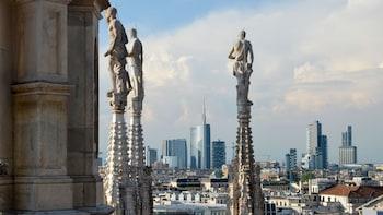 Rundvisning på taget af domkirken
